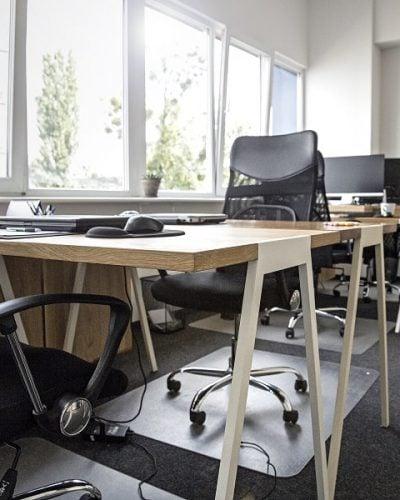 Biurko do biura w stylu skandynawskim fjord
