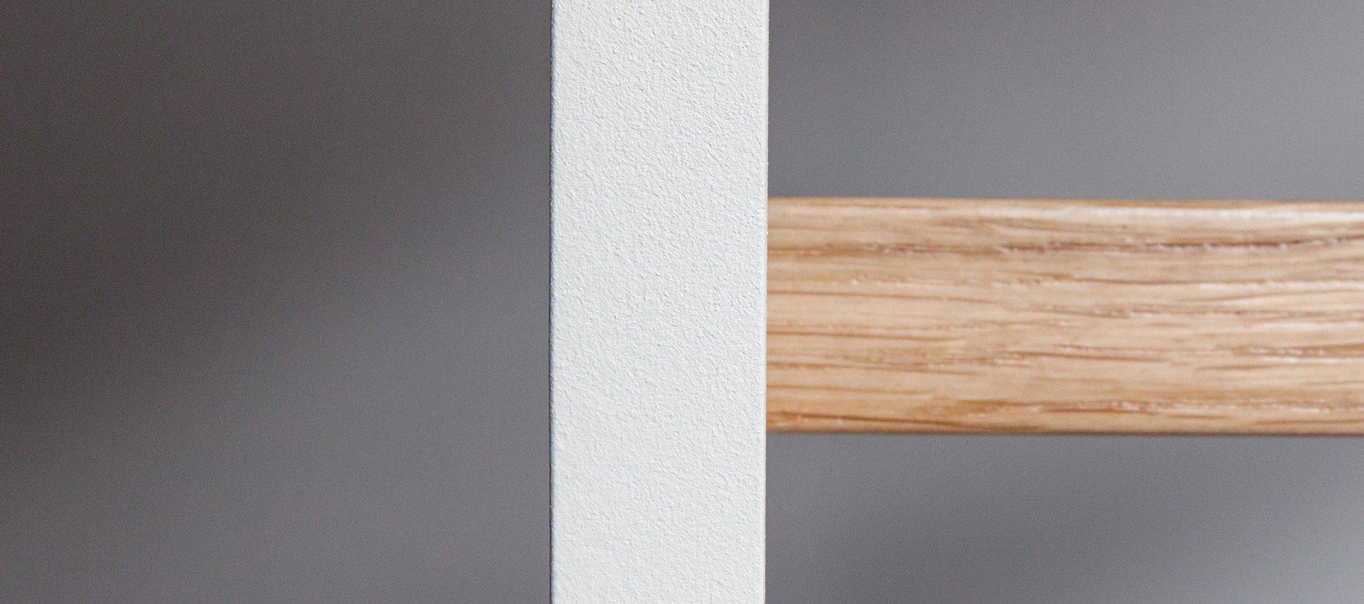 Metal śnieżna biel matowy lakier strukturalny (RAL 9003)