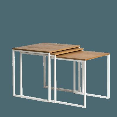 stoliki rozkładane spill trio
