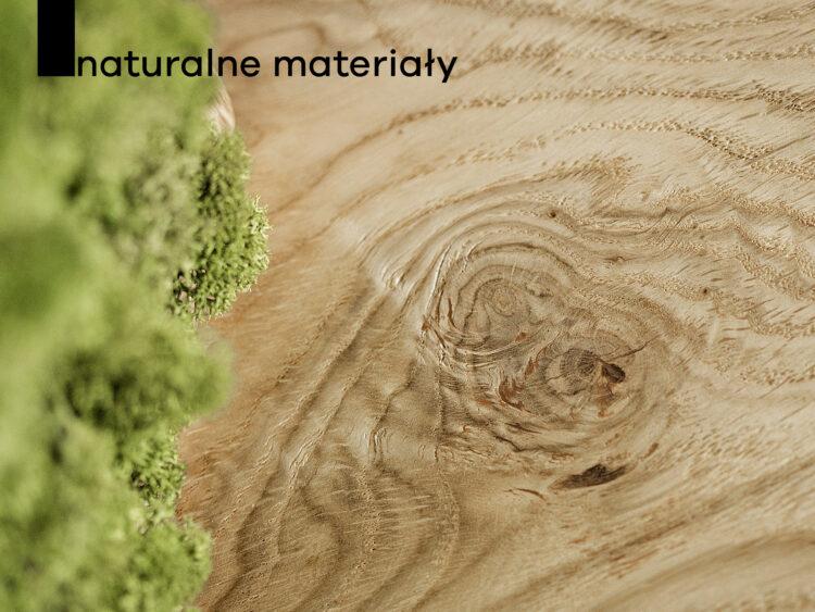 naturalne materiały, drewniane materiały