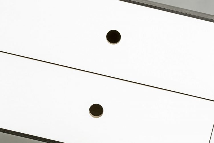 moduł szufladowy vind do regału sky - biała farba mat (RAL 9003)