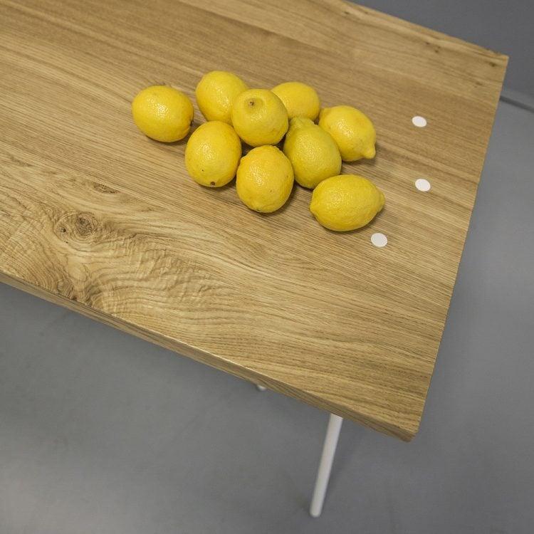 blat dębowy biurka skog - must have - cytryny