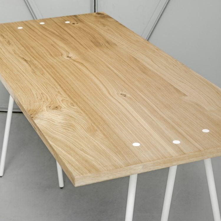 blat dębowy biurka skog - must have