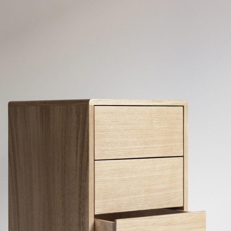 kontener biurowy havn - detal ostatniej szuflady