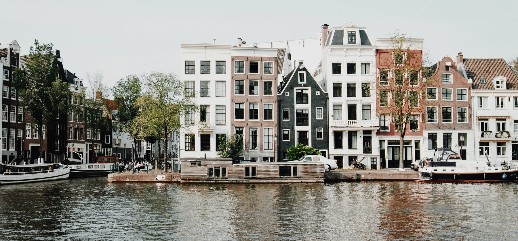 krajobraz Amsterdam