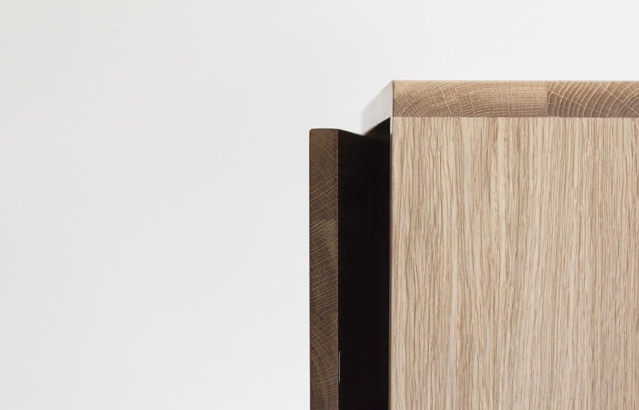 Drewniana szafka trygge