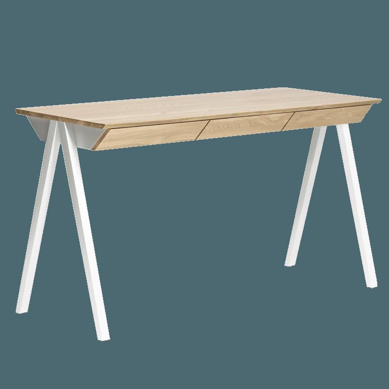 biurko drewniane vogel m z szufladami