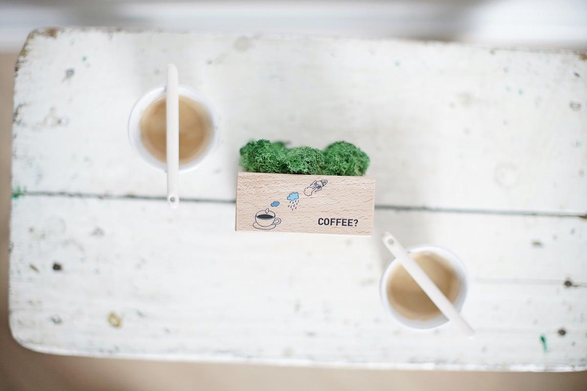 Higrometr z nadrukiem coffe