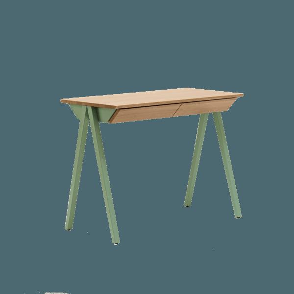 biurko w stylu skandynawskim vogel S miętowe