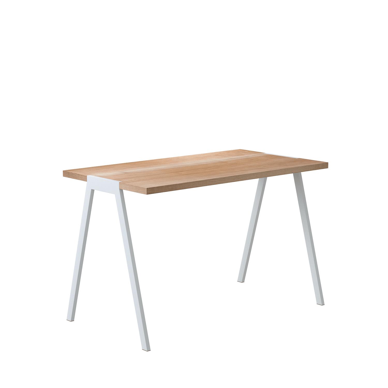 biurko fjord z kolekcji Oslo białe nogi