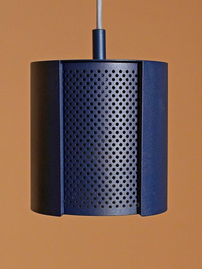 Lampa punktowa ogen w kolorze granatowym z kolekcji Amsterdam