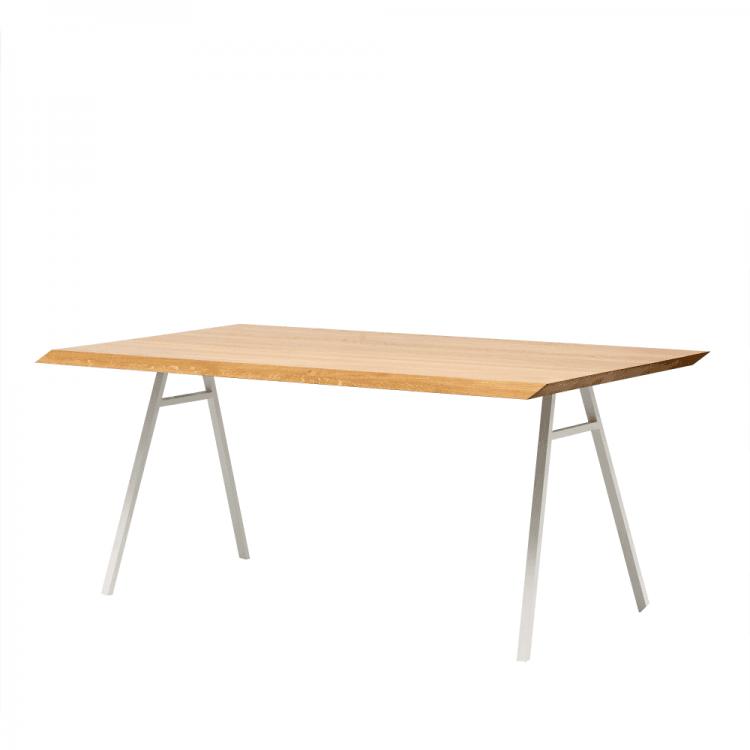 stół z blatem z litego drewna north