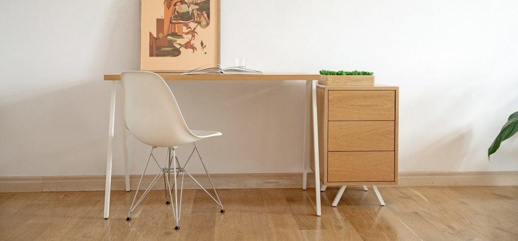Designerskie biurko skandynawskie fjord