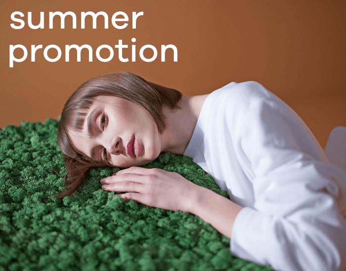 summer promotion slider