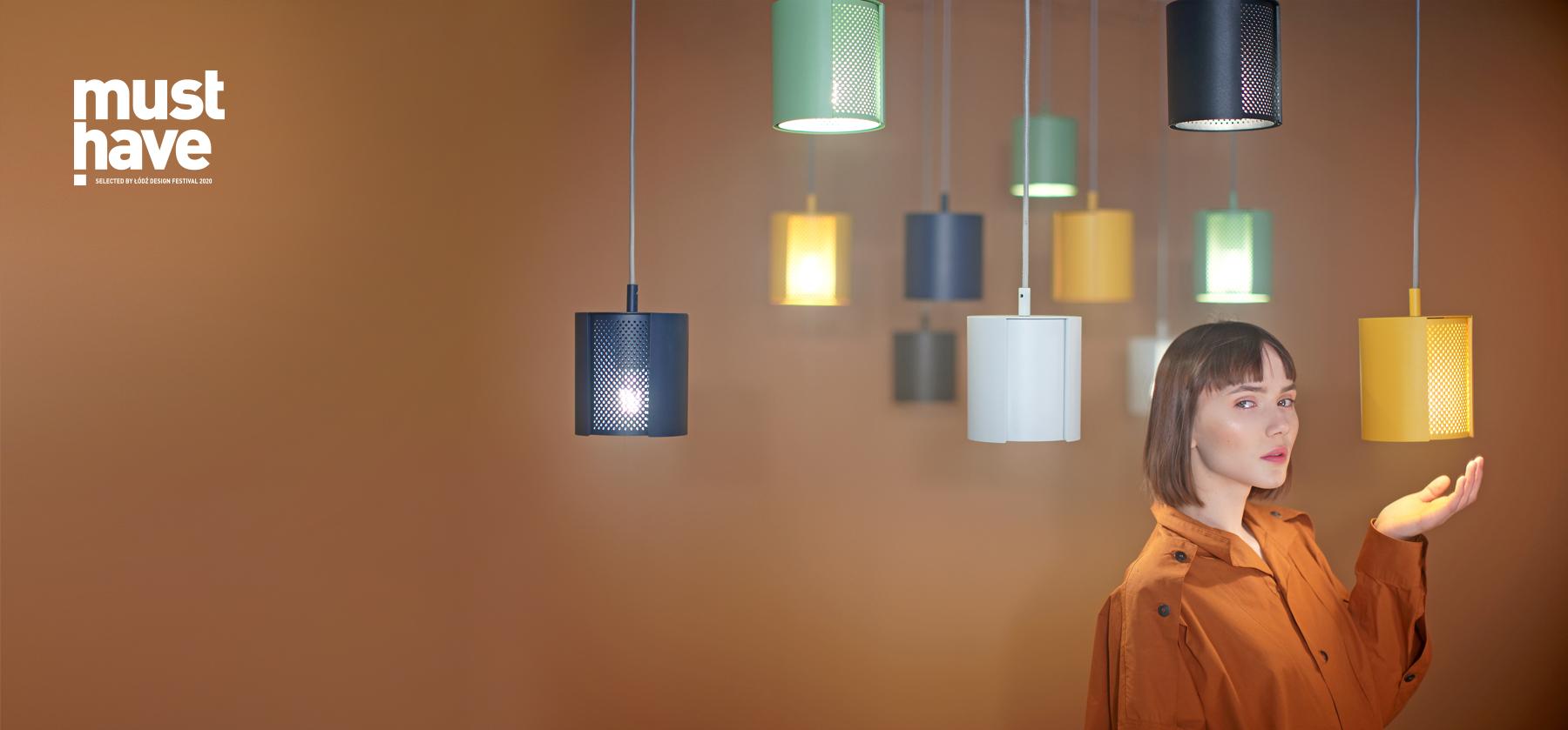 lampa wisząca ogen w różnych wariantach kolorystycznych