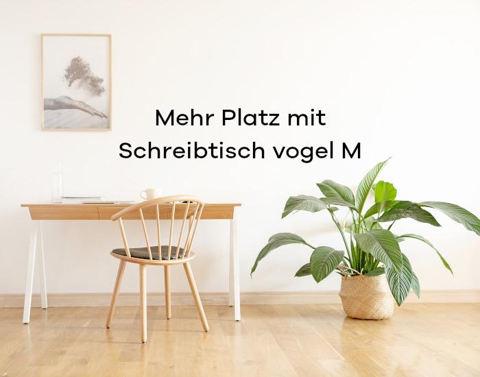 wiecej przestrzeni z biurkiem vogel M DE